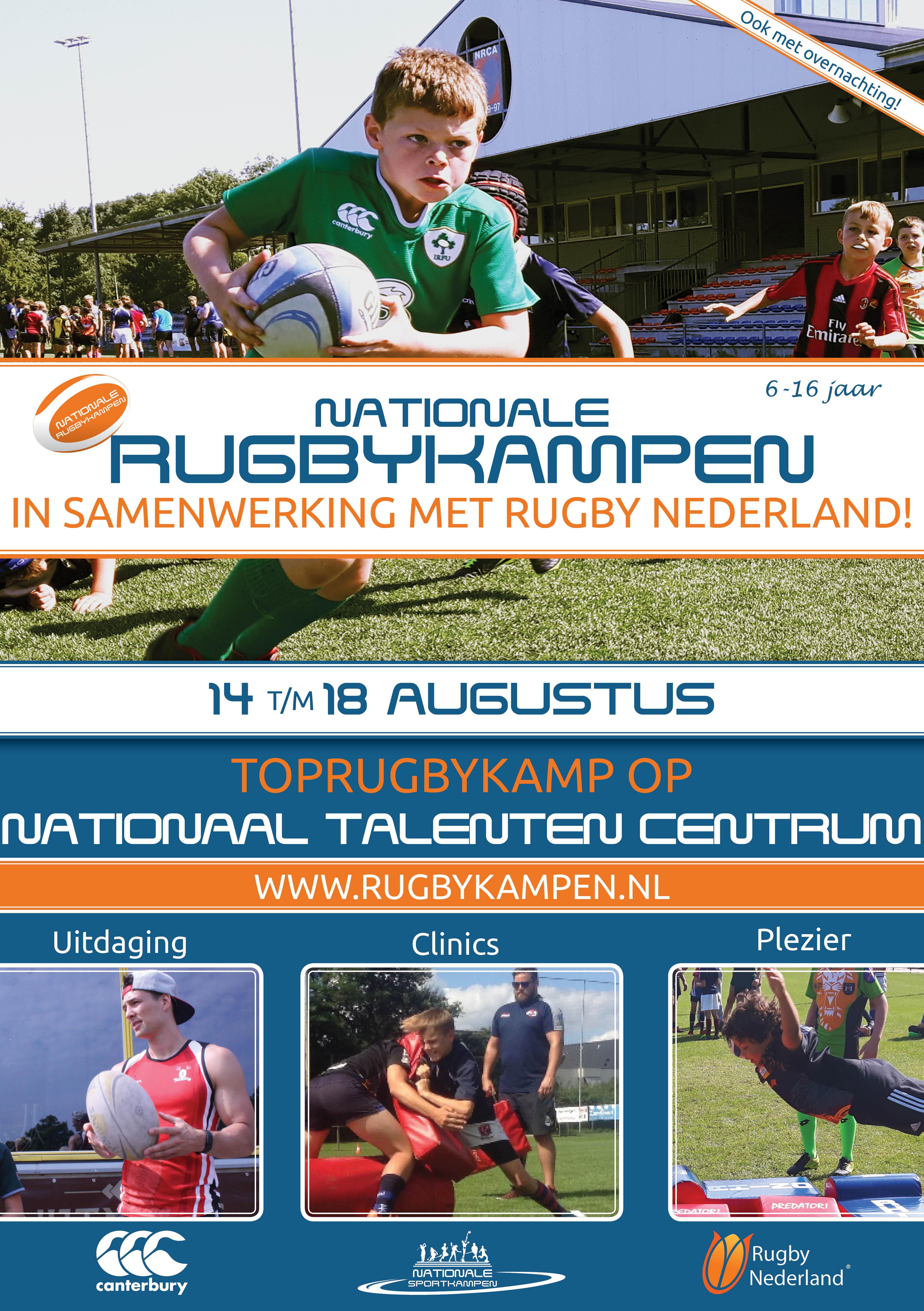 Top rugby kamp 2017